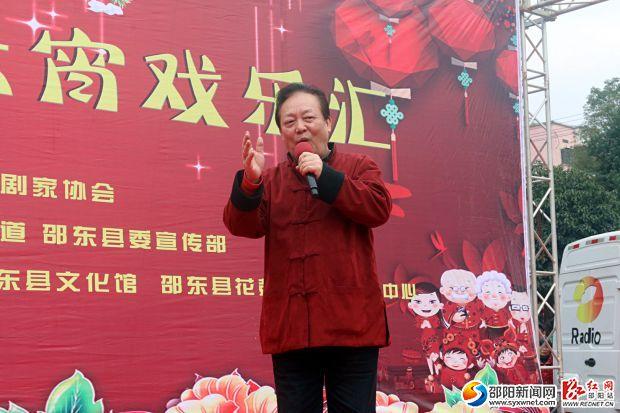 元宵戏乐汇,名家秀湘剧《沁园春 雪》。