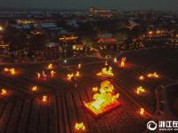 烏鎮水燈會 點亮水鄉中國年