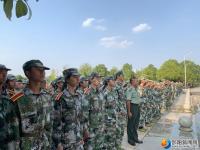 邵阳学院开展消防应急疏散演练