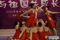 隆回二中:热歌劲舞庆新年