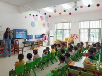 洞口县黄桥镇中心幼儿园开展防汛安全教育活动