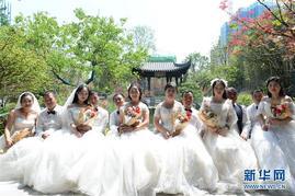 工友們的七夕婚紗照
