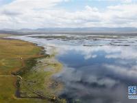秋日尕海湖