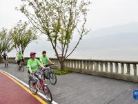 重庆云阳环湖绿道全线建成开放